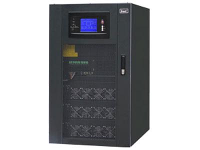 """英威腾 RM系列20~200kVA模块化UPS  ·核心功率器件采用集成封装IGBT模块 ·系统主机配置5.7英寸触摸LCD显示屏 ·热插拔静态旁路监控模块 ·强大的远程网络管理方案 ·智能化电池管理方案 ·N+X冗余模块化设计 ·超宽电压输入范围 ·支持机柜直接并联 ·高输入功率因数 ·全数字化控制 ·远程EPO功能 ·维护""""零门槛"""""""