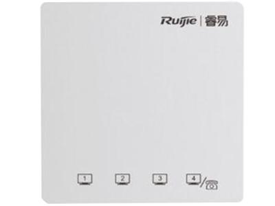 锐捷睿易 RG-RAP120(V2) 标配雅白 可选配黑色、银色、金色 物理特性 业务端口正面:4个10/100Mbps自协商以太网口(4口兼容RJ11电话口) 背面:1个10/100Mbps自协商上行口,1个电话口插槽 复位按键支持(隐藏) 指示灯支持(隐藏),可静默关闭 POE供电仅支持802.3af/802.3at兼容供电 尺寸和重量86mm * 86mm *39mm,0.14kg
