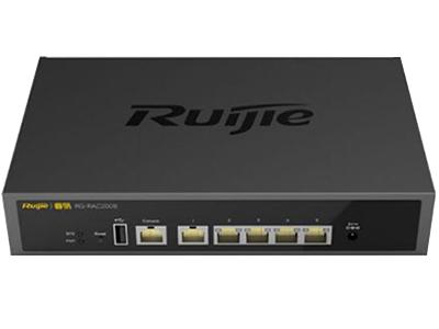 锐捷睿易 RG-RAC200B 业务端口5个100BASE-T 接口 管理端口1个console口 开关电源标配一个电源适配器,不可扩展 尺寸和重量228.8 mm *144 mm *43.5 mm 工作功率