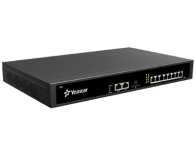 朗视S50  Yeastar S50支持50个VoIP分机与最多8个模拟分机,可接入模拟外线、手机卡外线与VoIP外线。Yeastar S50内置通话录音、自动话务员、电话会议、呼叫队列、移动分机、广播/对讲、视频通话等先进通信功能,为用户创造高效的商务沟通体验。Yeastar S50同时具有优异的融合性,能够轻松实现IPPBX异地电话组网、传统PBX分机外线扩容、网络视频监控联动等方案应用,非常适合小型公司或企业分支机构。