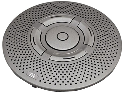 中兴 A520 设计时尚美观,支持3米范围精确拾音,内置蓝牙,同时支持USB接口,采用最先进的音频处理技术,配合中兴通讯ET302视频会议终端使用,为您带来悦耳的音频体验