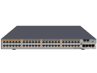中兴 5960-64DL-H 支持48个10GE SFP+端口,4个40GE QSFP+端口,两个风扇模块,两个电源模块