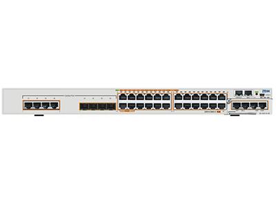 中兴 5950-36TM-H: 24*GE RJ45+4*GE Combo+2*扩展槽