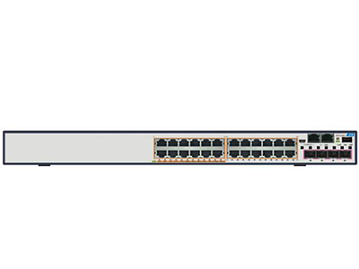 中兴 5950-36TM 24*GE RJ45端口 + 4*10GE SFP+端口 + 1*扩展卡