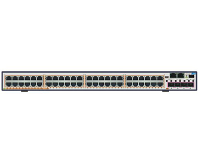 中兴 5950-60PM 48*GE POE+端口 + 4*10GE SFP+端口 + 1扩展卡