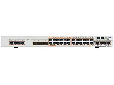 中兴 5950-36TM-H 24*GE RJ45+4*GE Combo+2*扩展槽