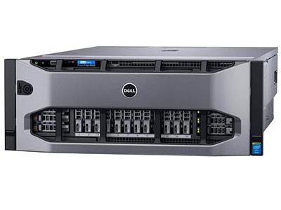 """戴尔PowerEdge R930(Xeon E7-4820 v3/8GB/146GB)    """"产品类别: 机架式 产品结构: 4U CPU型号: Xeon E7-4820 v3 标配CPU数量: 2颗 内存类型: RDIMM 内存容量: 8GB 硬盘接口类型: SAS 标配硬盘容量: 146GB"""""""