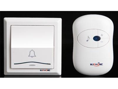 玛嘉乐-无线电子门铃-一拖二拖一家用交流数码遥控-86线盒铃-大按钮门铃