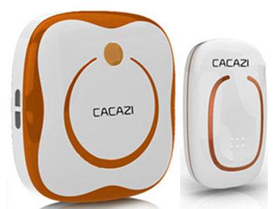 卡佳斯-交直流家用无线门铃遥控防水电子门铃一拖一拖二一拖三-不用电线