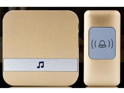 卡佳斯-门铃无线家用远距离无线门铃不用电池一拖二拖一呼叫器遥控门铃