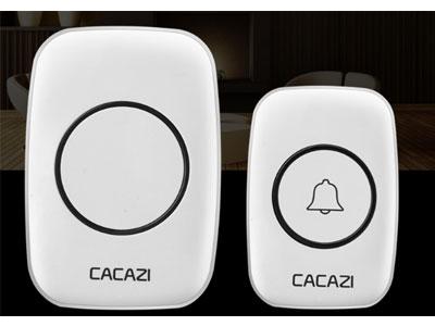 卡佳斯-无线门铃一拖一二-家用-不用电池防水电子远距离遥控门铃-呼叫器