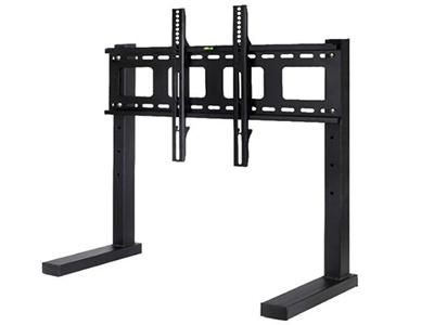 液晶电视通用双柱免打孔电视挂架落地支架