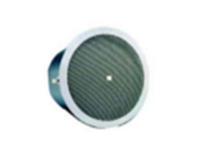 JBL-Control 26CT-LS带有生命安全认证的6.5寸天花扬声器 频率响应:80 Hz - 20 kHz 功率负载 150 W 持续功率 常规覆盖角度 110° 圆锥形覆盖 额定最大声压级 107 dB @ 1 m (3.3 ft)