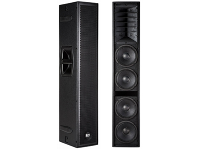 RCF-NX L24-A/二分频有源线阵列扬声器  音箱类型 二分频有源线阵列扬声器 单元组成:4只6
