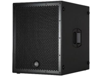 "RCF-SUB 8004-AS/单十八寸有源超低频扬声器  音箱类型:单十八有源超低频扬声器 单元组成:18""低音单元(4""音圈) DPS均衡、限幅、保护控制; 最大声压级(Max SPL):136dB; 频率响应(±3 dB):30 Hz~120 Hz; 额定输出功率(RMS):1250W; 低频峰值输出功率(PEAK):2500W; 音箱尺寸(W×H×D)557.5×700×700mm 净重 51Kg(1只)                                                  ※产品参数已进入EASE数据库"