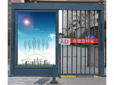 人行通道广告门 智能通道门