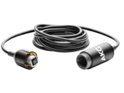 AKG 产品-MK150 M连接器1.5米系统电缆与连接器4两头都是4针接口(Modular Plus系列通用接口)