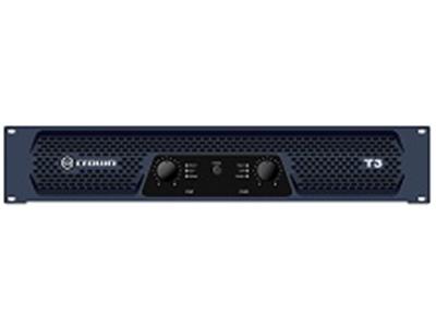 CROWN-T3立体声功率:8Ω 330W,4Ω 450W,桥接功率:8Ω 900W