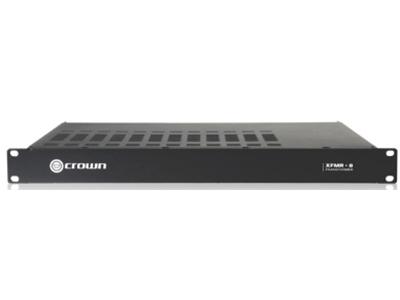CROWN-XFMR-8/8通道机架式变压器,定阻转定压,与Com-Tech DriveCore (CT475、CT875、CT415和CT8150)搭配使用,可支持70V或100V 输出