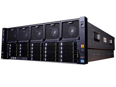 """华为FusionServer RH5885 V3典配(V4处理器)    市场典配(8HDD机型,2*E7-4809V4 CPU,2*16GB DDR4内存,1*2.5"""" 600GB SAS 硬盘,SR430C RAID0/1/5 1G Cache,4*GE,2*1200W电源,DVD,滑轨) 配置说明:标配2颗Intel Xeon E7-4809 V4(八核-2.1GHz-115W);可支持4颗Intel Xeon E7-4800 V4全系列处理器;标配2条DDR4 Registered DIMM 16GB;可支持48个内存插槽;标配4*GE以太网卡;SR430C(SAS/SATA RAID0,1,10,5,50,6,60, 1Gb Cache,支持超级电容)智能阵列控制器;标配1块2.5 inch 600G SAS硬盘(10000rpm);可支持8块2.5inch SAS/SATA热插拔硬盘;标配7个PCI-E插槽(1个PCIe 3.0 x16插槽,3个PCIe 3.0 x8 插槽,2个PCIe 3.0 x4插槽,1个PCIe 2.0 x4插槽);N+1个冗余系统风扇;4个USB(前面2个,后面2个);集成BMC管理模块,支持华为iMana,支持IPMI、SOL、KVM Over IP、虚拟媒体等管理特性,对外提供1个10/100Mbps RJ45管理网口;标配2个1200W交流电源, 可选冗余;内置DVD;导轨;4U机架式"""