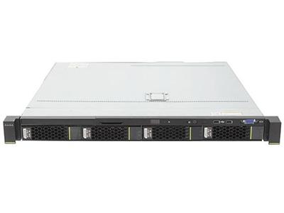 """华为FusionServer RH1288 V3(V4 CPU)    4盘典配(支持3.5""""硬盘,不支持RAID卡)(1*E5-2603V4 CPU,1*8GB DDR4内存,软件RAID 0/1/10 license,无硬盘,2*GE,1*460W电源,无DVD,滑轨)"""