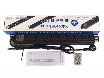 思科通 PDU插座32A/8位  服務器專用 6平方防雷