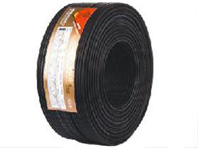 金山角 半雾面黑色麦克风话筒线 FD-2201A  OD:6.0(28/无氧铜+神经线1条)X1.6X2C(PVC红白)           +棉纱+铝箔+(96/铜包铝)编网