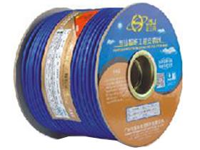金山角 磨砂透明蓝色麦克风话筒线 FD-186C  OD:6.2(29/无氧铜+神经线1条)X1.5X2C(PVC红白)          +棉纱+(96/镀锡铜)缠绕 FD-141A  OD:6.5(25/无氧铜+神经线2条)X1.5X2C(PVC红白)          +棉纱(40/镀锡铜+神经线20条)缠绕