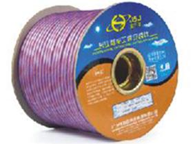 金山角 透明浅紫色麦克风话筒线 FD-187   OD:6.6(29/无氧铜+神经线1条)X1.5X2C(PVC红白)          +棉纱+(74/无氧铜+22镀锡铜)缠绕 FD-185A  OD:6.6(29/无氧铜+神经线1条)X1.5X2C(PVC红白)          +棉纱+(48/镀锡铜+棉纱)缠绕