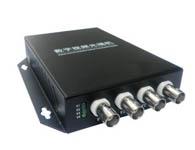 思科通 4V1D 1路帶反向數據 4路數字光端機 三級防雷