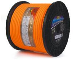 金山角 荧光雾面橙色镀银线 FD-S210  OD:8.5(96/无氧铜+30/镀银铜+神经线5条) FD-S220  OD:10.0(210/无氧铜+42/镀银铜+神经线7条)