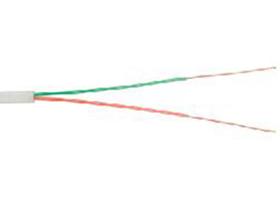 金山角 两芯电话线 FD-1400A  OD:3.3{(1/无氧铜)X2CX0.95PP}*两芯  单支线