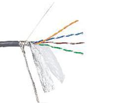 金山角 超五类带屏蔽网线 FD-SFTP-AL5E  OD:6.8{(1/无氧铜)X1.0X8C}*单支线 超五类带屏蔽 工程专用