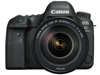 佳能6D II 单反相机画幅:全画幅 像素:2000-2999万 用途:人物摄影,风光摄影,高清拍摄,运动摄影,静物摄影