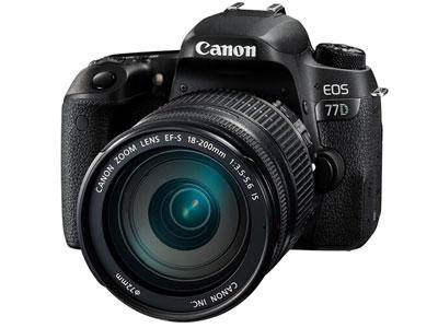 佳能 77D 18-135 单反相机画幅:APS-C画幅用途:人物摄影,风光摄影,高清拍摄,运动摄影,静物摄影