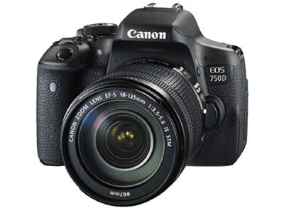 佳能 750D 18-135 单反相机画幅:APS-C画幅  分类:中端   像素:2000-2999万  用途:人物摄影,风光摄影,高清拍摄