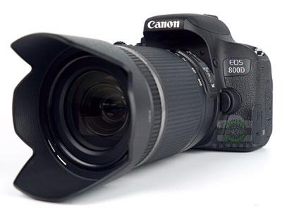 佳能 800d  18-200 单反相机画幅 ASP-C画幅   用途 人物摄影/风光摄影  连拍速度 约6张/秒