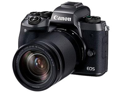 佳能 m5套机传感器尺寸 APS画幅    有效像素 1999w  连拍速度 约9张/秒