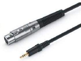 金山角 JSJ-807A 6.35对卡龙母麦克风音频线 黑色PVC外皮 全铜线芯 镀金头 金山角 袋包装 1米 1.5米 2米 3米 5米 10米 15米 20米 25米 30米