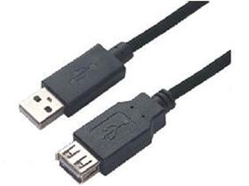 金山角 JF-USB44 USB AN-FM 公对母 黑色齿状外皮 双磁环  时尚铁盒包装 1.5米 3米 5米 10米