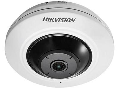 海康威視DS-2CD3955FWD-IWS    500萬像素全景網絡攝像機,H.265編碼,支持Micro SD卡,支持POE,支持紅外10米,支持無線,寬動態