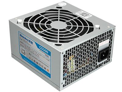 """航嘉网彪GS500    """"额定功率:400W 适用对象:台式机 PFC类型:主动式 类型:非模组"""""""