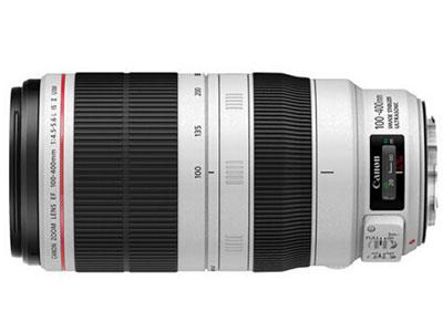 佳能 EF-100-400mmf4.5-5.6II  卡口:佳能卡口品种:单反镜头画幅:全画幅类型:远摄变焦