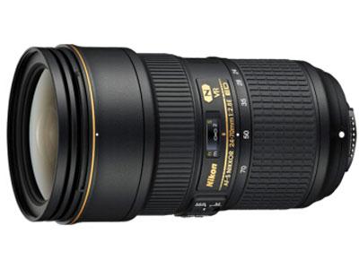 尼康(Nikon) AF-S 尼克尔 24-70mm f/2.8E ED VR  卡口:尼康卡口品种:单反镜头画幅:全画幅类型:标准变焦