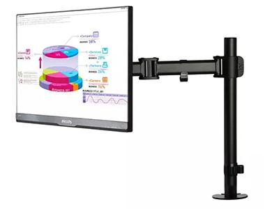 BK LDT07-C012机械单屏  钢制机械显示器支架,适用13-27寸