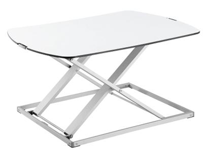 BK-DWS07-01笔记本升降台 升降高度370mm,板厚8mm,桌板尺寸795×540mm,称重10KG,桌面调高32-400mm