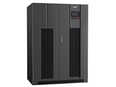 科华 KR33 系列高频化三进三出 UPS(300-600kVA)    高频 IGBT 整流机型采用三电平双变换在线技术、IGBT 和数字信号处理器(DSP),KR(/B)33 系列可确保为任何数据处理或工业领域的负载提供高质量的电源保障,尤其适用于保护重大关键负载,VFI SS 11(电压,频率独立)符合 IEC EN 62040-3。 这一系列的设计采用了新的配置,其中包括确保正弦输入电流的 IGBT 整流器,以取代传统的晶闸管整流器。同时 300kVA 及以上产品兼容隔离变压器,使输出和输入完全电气隔离,可完全避免输入端因电网异常给负载设备带来的影响。