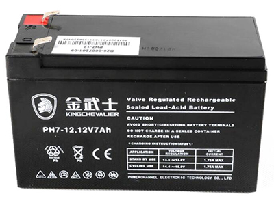 金武士PH-7AH 12v免维护蓄电池 UPS后备电源消防门禁喷雾器备用电瓶伏