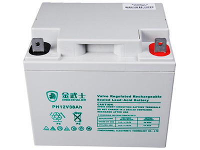 金武士蓄电池UPS PH-38AH 12V免维护铅酸蓄电池门禁安防