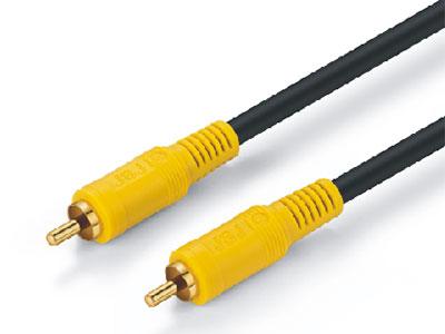 金山角  JSJ-211 同轴视频线 OD:6.0*1F 黑色PVC外皮 金山角 袋包装 1米 1.8米 3米 5米 10米 15米 20米